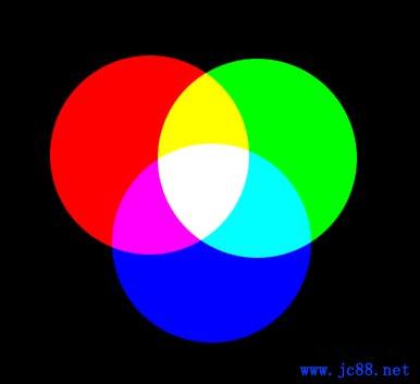 四种颜色搭配而成的