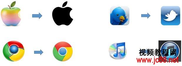 木质,布纹等多样化的表现手法来渲染icon
